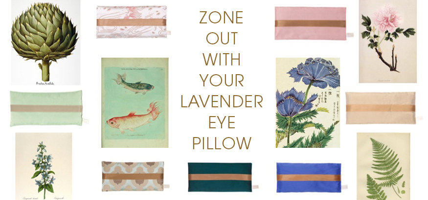 Holistic Silk Lavender Eye Pillow