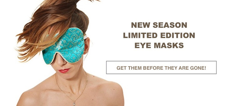 Turquoise Limited Edition Lavender Eye Mask
